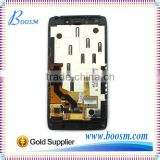 100% Original LCD Touch Screen for Motorola Droid Razr HD XT925 XT926 XT926M Screen Assembly with Frame