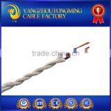 0.75mm2 Cotton Braided PVC Insulation Electric Wire with High Temperature and High Voltage PVC Lamp Cord