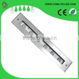 Waterproof recessed buried linear LED inground light