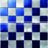 2013 wholesale price great color high-quality metallic aluminum mosaic tiles for wall decoration 300*300 YX-MA04
