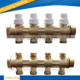 15 ways Systems Brass Manifold/water manifold/2 way manifold/3 way manifold/brass fittings