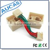 Easy to plug in and out rj45 to rj11 Modular adapter male