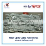 Various helical dead-end tension clamp for ADSS cable