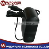 AC/DC 12v 0.5a power adaptor (Type A B C D E F G H I J K L plug of output cable Barrel type 5.5x2.1mm)