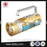 hot high power displayable rechargeable XPE R3 3 functions 3 colors searchlight/fishing lamp