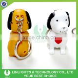 Brand Name Kids Toys Sound Key Holder Dog with Led Light