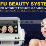 300W Home Use Hifu Machine Nasolabial Folds Removal Hifu Face Lift/wrinkle Removal Machine AYJ-T39B
