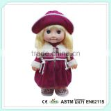 China Factory Toy Educational Toys Moving Heads Dolls With Fashion Dress Baby Dolls