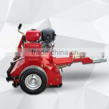 side wheel or rear wheel adjustable atv flail mower