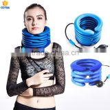 alibaba express Hot New Products Inflatable Cervical Traction / cervical pump collar / Velvet Pneumatic Cervical Collar                                                                         Quality Choice
