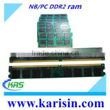 Verified supplier wholesale 667 800 mhz 1gb & 2gb ddr2 3gb ram with free retail packing