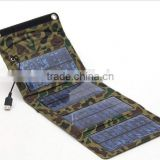 8W foldable solarpanel bag for mobile phone, Portable Flexibility and Charger Adapter Accessories Solar Charger