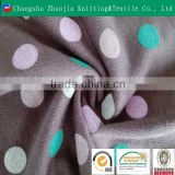 Quality Guaranteed Cotton Fabric Weft Knitted Mesh Printed Organic Cotton Fabric Wholesale