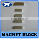 NdFeB Sintered Permanent Magnets block, magnet separator block, Various Plating are Available