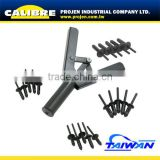 CALIBRE Auto Repair Tool 41pc Plastic hand rivet gun rivet nut gun