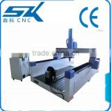 low price 3d Z axis cnc foam cutting machine about thickness foam plate, animal shapes,statues sculpture mold