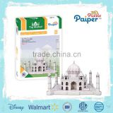 Build model paper puzzle game taj mahal souvenir gift