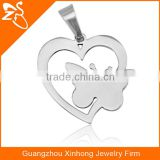 Animal Butterfly Shaped Latest Design Beads Stainless Steel Pendant Necklace Stainless Steel Jewelry
