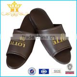 Wholesale Good Quality High-heel Open Toe Leather Slipper