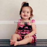 wholesale baby floral romper softextile baby romper
