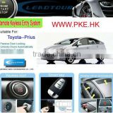 RFID Car Security System and Paaive Keyless Entry PKE Remote Start Push Button Start Car for Toyota Prius