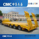 CIMC 60 ton Low Bed Truck Semi Trailer