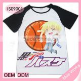 Kuroko's Basketball Kise Ryota Kuroko no Basuke short sleeve t shirt wear anime clothing for men women