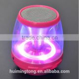 New style portable wireless mini bluetooth speaker with led light and TM card function
