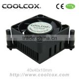 CoolCox Graphic card cooler fan,VC-AL4002,VGA cooler fan,aluminium heatsink,for nvidia Geforce,ATI Radeon,hole distance 59mm