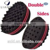 hair salon twist sponge,barber hair salon twist sponge,wave barber hair brush sponge