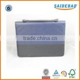 Multi-function and costomized design file folder with handle,manager folder with calculator and loose-leaf binder