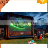 hot sale custom Fashion Outdoor movie screen, popular projector inflatable movie screen for advertising