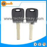 ABS transponder universal key shell with uncut blade chip groove without logo for fiat granda punto brave marea croma