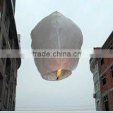 promotional and traditional chinese square sky lanterns with fireretardant and fireproofed paper