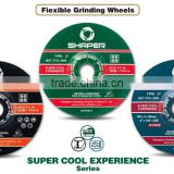 Mini tool kit Abrasive flexible grinding wheel 103*2.9*16mm