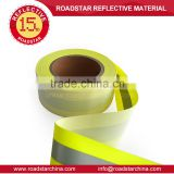 High brightness reflective flame retardant tape