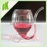 Factory wholesale glass mini wine glass shot glass // Eco-friendly Material 300ml vampire crystal mini wine glass shot glass