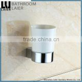18238 walll mounted hot selling modern zinc ceramic bathroom accessories ceramic-cups and tumbler holder