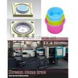 Popular Design Plastic Plastic Bucket Molds Injection Basin Moldings Plastic Crate Making Machine