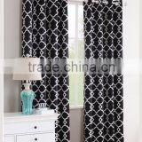 Cotton linen fabric ready Royal curtains cover cheap wedding backdrops ready made curtains drapes