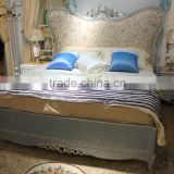 luxury french neoclassic rococo european royal furniture bedroom bed set