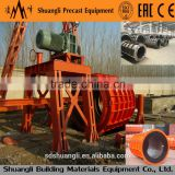 XG series High Quality Reinforced Roller Suspension Concrete Pipe Making Machine culvert pipe