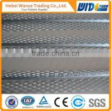 aluminum corner guard /corner wall mesh/perforated metal sheet angle bead/galvanized metal corner bead