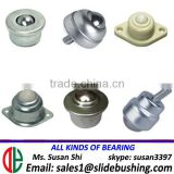 plastic wheel bearing with screw jimny ball caster small roller wheel ball transfer units factory