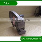 small size cast aluminium toggling machine clips