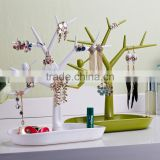 Multifunctional Tree-shape plastic Jewelry Accessories stand display