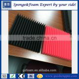 High quality customized acoustic foam panels / High density soundproofing foam with wedge/egg/pyramid shape