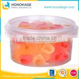 310ml IML PP Plastic Clear Fruit Bowl, Clear Bowl for Soup/Fruit