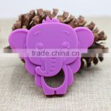 silicone elephant baby teether
