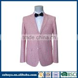 Hot sale style men's casual blazer men suits with half lining 10 years experience making suits